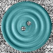 Frozen Button- Blue
