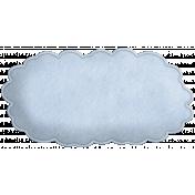 The Nerd Herd- Blue Felt Cloud