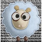 The Nerd Herd- Felt Sheep 1