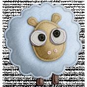 The Nerd Herd- Felt Sheep 2