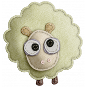 The Nerd Herd- Felt Sheep 3