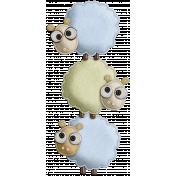 The Nerd Herd- Felt Sheep Pile 1