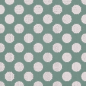 Country Wedding- Sage Dotted Circle Paper