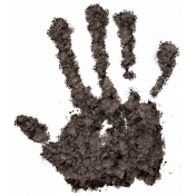 At The Farm- Dirty Hand Print