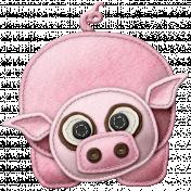 At The Farm- Felt Pig 1