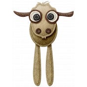 At The Farm- Felt Goat
