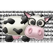 At The Farm- Felt Cow 2