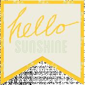 Sunshine & Lemons- Hello Sunshine Tag