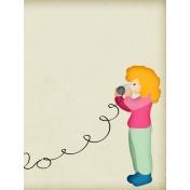 Hello!- Journal Card 2