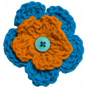 Hello!- Crochet Flower