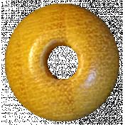 Sunshine & Lemons No2- Wood Bead 1
