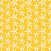 Sunshine & Lemons No2- Yellow Lemon Flowers Paper