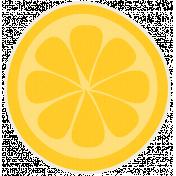 Sunshine & Lemons No2- Lemon Sticker