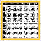 Sunshine & Lemons No2- Doodle Frame