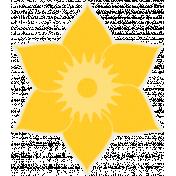 Sunshine & Lemons No2-Daffodil Sticker