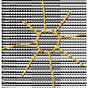 Sunshine & Lemons No2-Stitched Sun