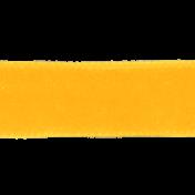 Sunshine & Lemons No2- Yellow Velvet Ribbon