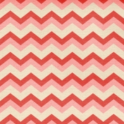 Oh Baby Baby- Red Chevron Paper