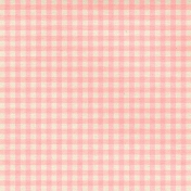 Oh Baby Baby- Pink Gingham Paper