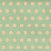 Oh Baby Baby- Big Polkadot Mint Paper