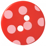 Oh Baby Baby- Red Polkadot Button