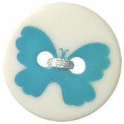 Oh Baby Baby- Butterfly Button