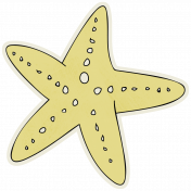 Beachy!- Starfish Sticker