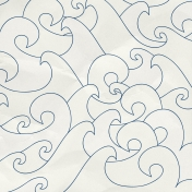 Arrgh!- White Waves Paper