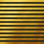 Arrgh!- Gold Stripes Paper