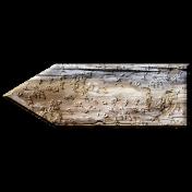 Arrgh!- Wooden Arrow