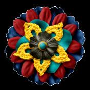 Arrgh!- Multi Colour Flower