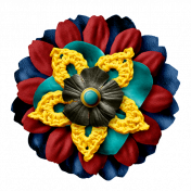 Arrgh!- Multi Colour Flower