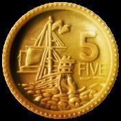 Arrgh!- Gold Coin