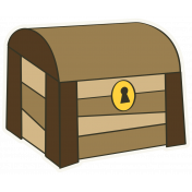 Arrgh!- Treasure Chest Sticker