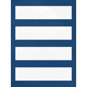 Arrgh!- Blue & White Journal Card