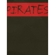 Arrgh!- Pirates Journal Card