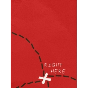 Arrgh!- Treasure Map Journal Card