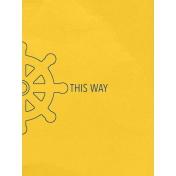 Arrgh!- This Way Journal Card