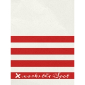 Arrgh!- X Marks The Spot Journal Card