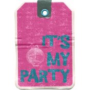August Garden Party- It's My Party Tag