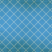 At The Fair- Blue Criss Cross Paper