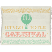 At The Fair- Carnival Invitation