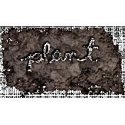 The Veggie Patch- Plant Word Art