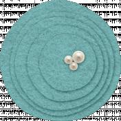 Sweet Dreams- Felt- Circles- Blue
