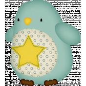 Sweet Dreams-Toy- Penguin- Blue