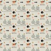 Ride A Bike- Bicycle- Cream