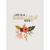 Ride A Bike- Journal Card 04