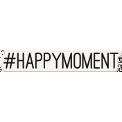 Ride A Bike Word Bits- Happy Moment