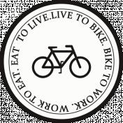 Ride A Bike Word Bits- Bike To Work