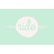 Ride A Bike- Journal Card 14